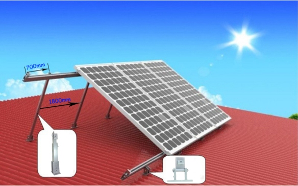 Green First Technologies Solar Panel Racks...